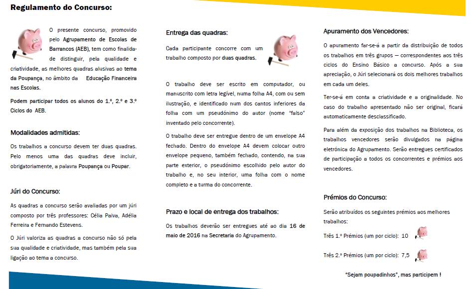 Muito Agrupamento de Escolas de Barrancos VK63