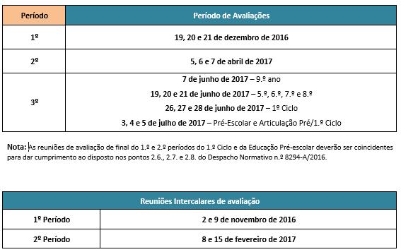 calendário escolar 2016-2017 3