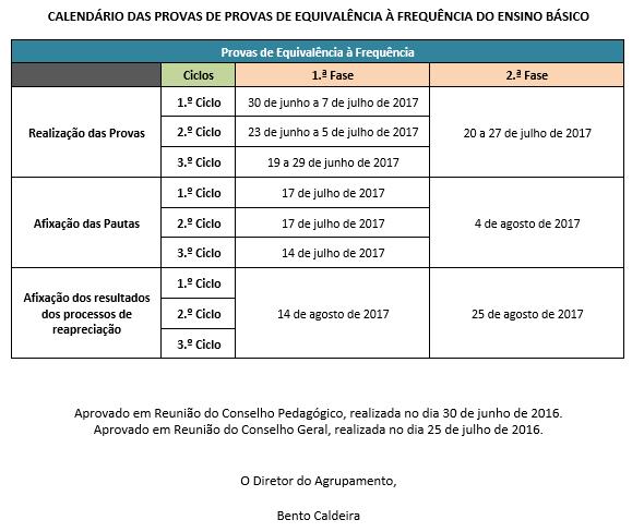 calendário escolar 2016-2017 6