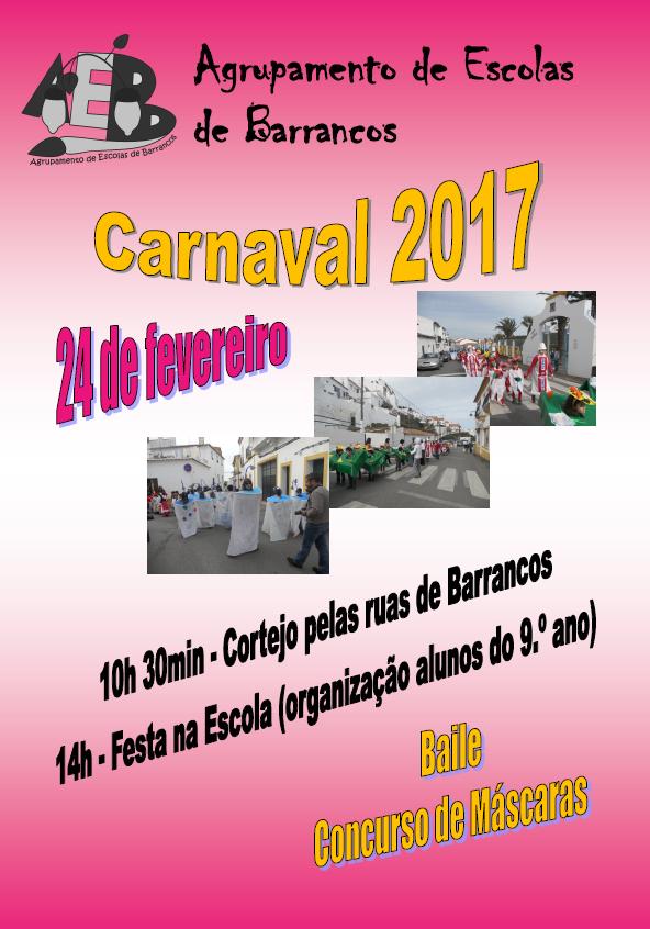 Cartaz Carnaval 2017